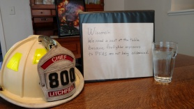 Firefighter Cancer Foundation Merrimac WI - Vicki Quint