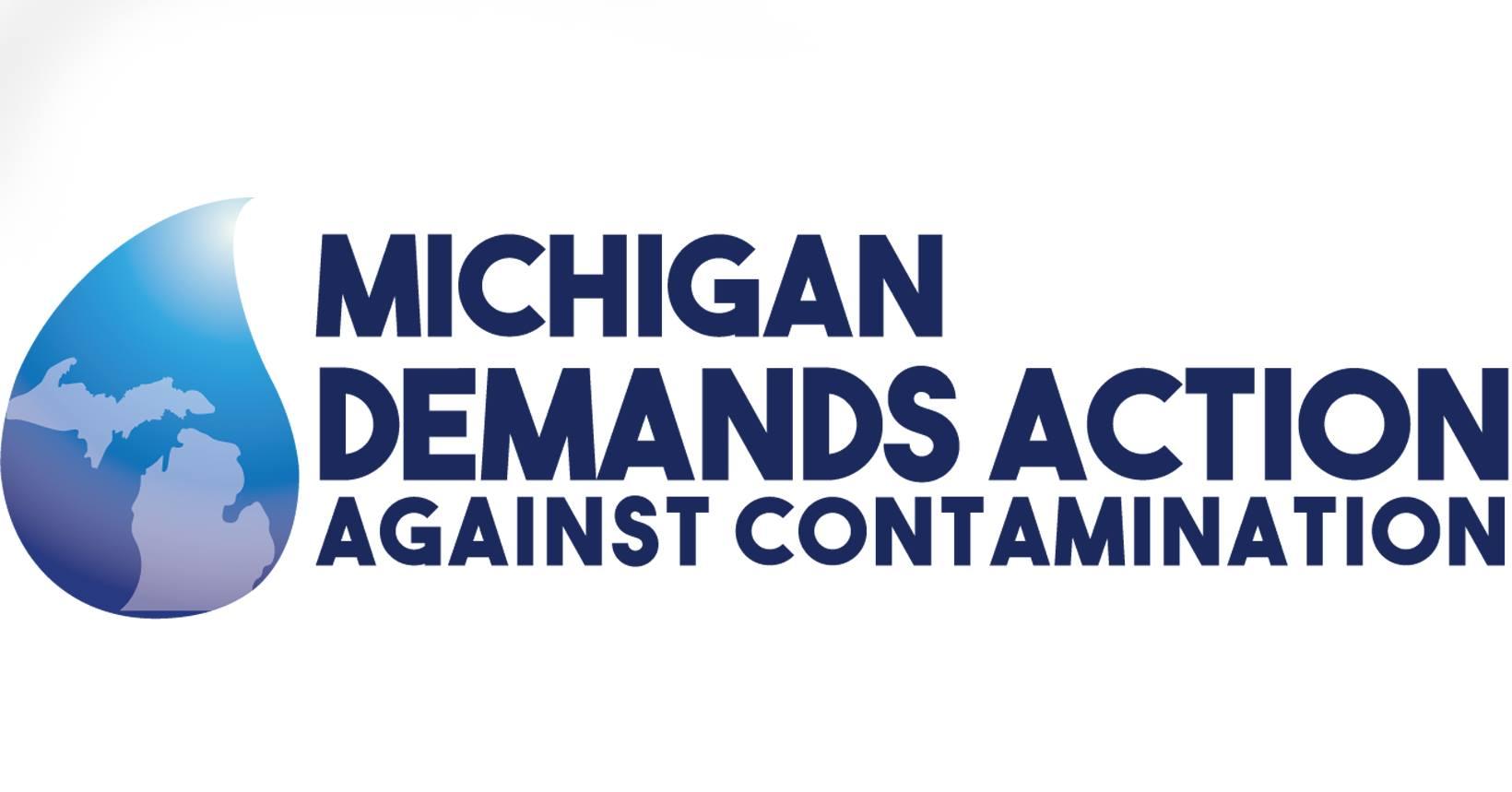 Michigan Demands Aciton Against Contamination Logo